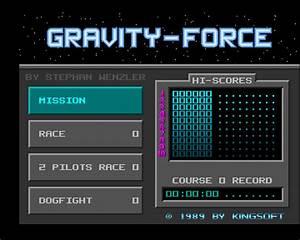 Download Gravity Force  Amiga