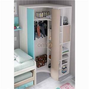 Chambre Gain De Place : unique armoire d angle pour chambre int rieur de la maison ~ Farleysfitness.com Idées de Décoration