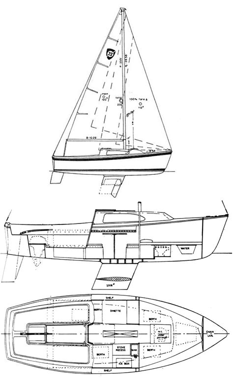 For 30 Plumbing Diagram by Columbia 22 Manual Blueprints Sailboatowners Forums