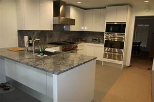 Super white kitchen modern kitchen dallas by the for Modern kitchen designs with granite
