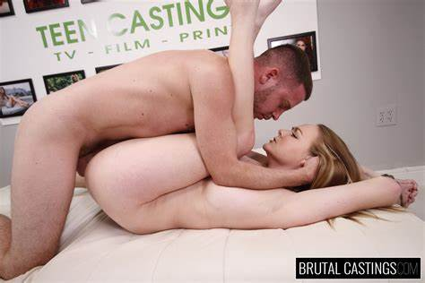 Teens Chick Having Campus Casting Audition By Agent