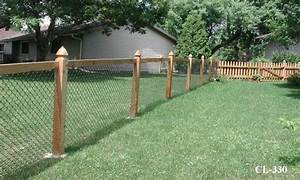 Chain Link Fence Vs  Wood Fence