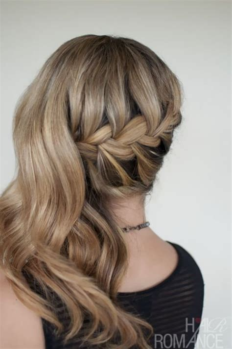 chic side swept hairstyles     younger