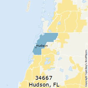places    hudson zip  florida