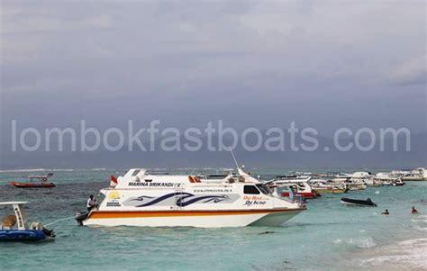 Marina Boat Gili Trawangan by Marina Srikandi 12 Fast Boat From Bali To Lombok Bali