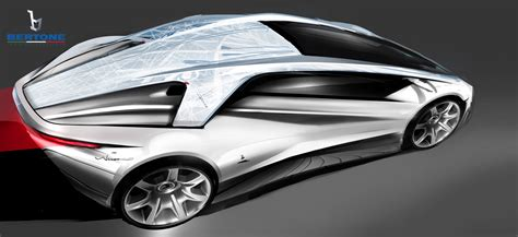 bertone nuccio concept design sketch car body design