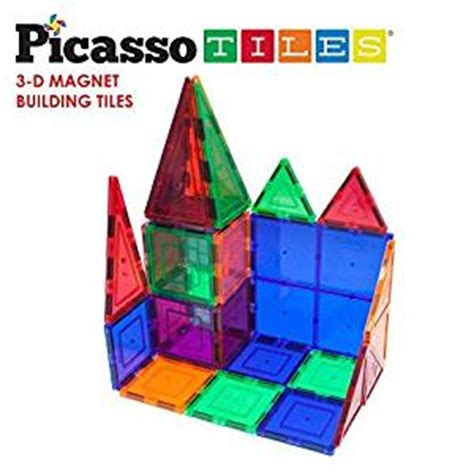 picasso tiles magnetic building blocks qty 1 2 3 4 5