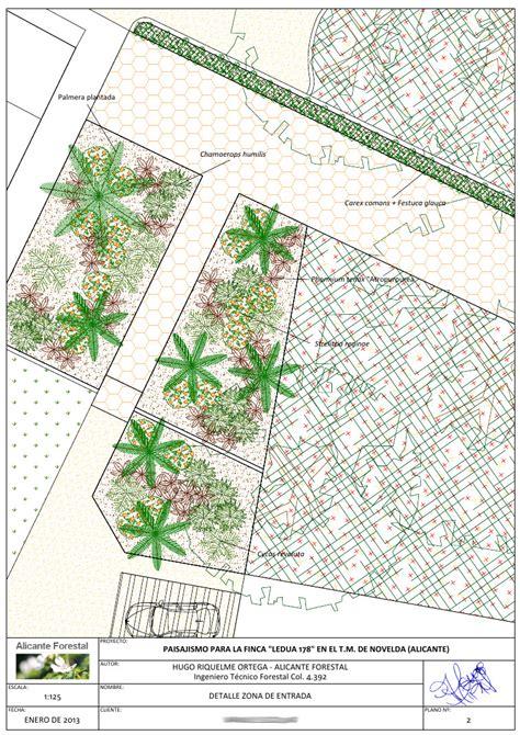 diseno de jardin en novelda alicante forestal