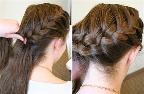 easy steps   side french braid women base