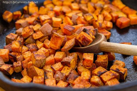 roasted sweet potato recipe roasted sweet potatoes recipe dishmaps