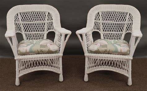 white wicker chair and ottoman white wicker chair uk chairs seating