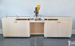 Mobile Miter Saw Station And Storage