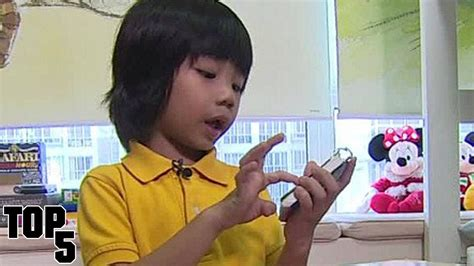 Top 5 Smartest Kids In The World Youtube