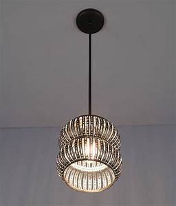 wpt secola recycled metal pendant light artisan crafted With recycled metal floor lamp