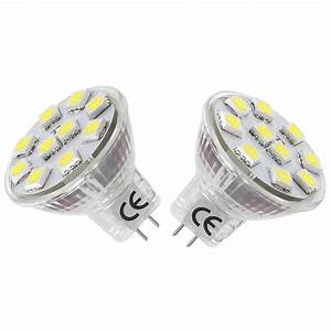 Led Gu 4 : 2 daylight 1 8w mr11 led bulbs equal to 12v gu4 0 halogen le ~ Orissabook.com Haus und Dekorationen