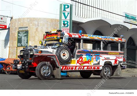 philippines jeepney vector picture of colorful filipino jeepney