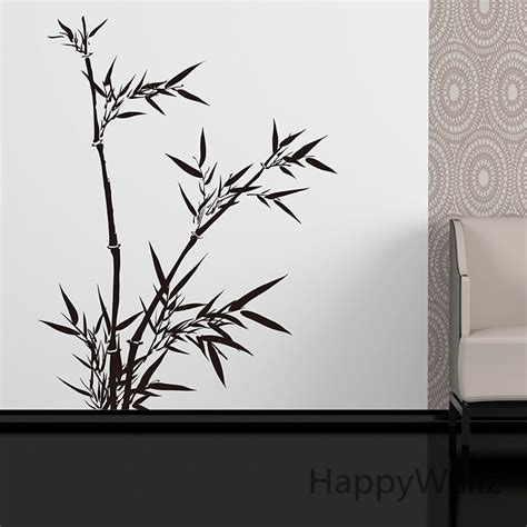 bamboo wall sticker style bamboo wall decal diy