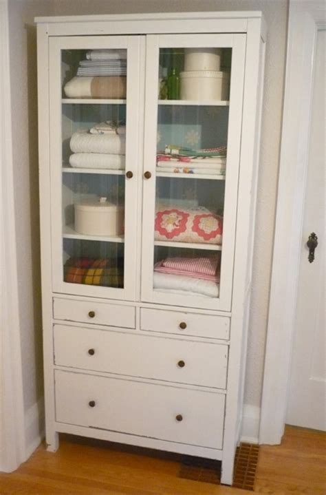 the hunt for a glass door cabinet hemnes linens and house