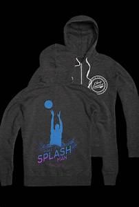 Make It Splash Zip Up (Heather Charcoal) Outerwear - Chris ...