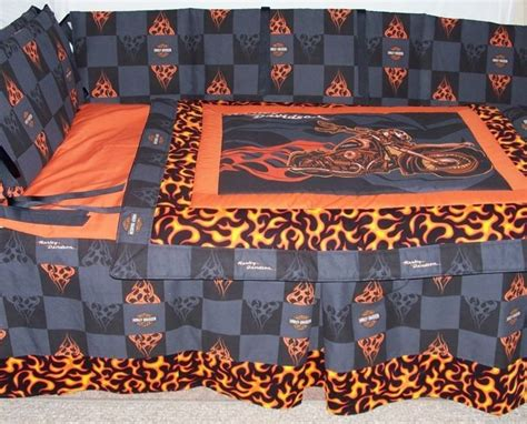 Harley Davidson Crib Bedding by Pin By Debbie Rogers On Anything Harley