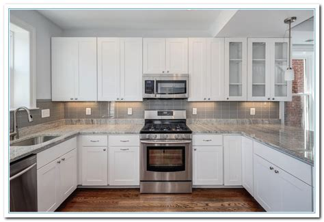 Kitchens Ideas With White Cabinets by Featuring White Cabinet Kitchen Ideas Home And Cabinet