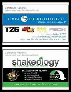 Wwwbeachbodycoachcom shamrockconst my new beachbody for Beachbody coach business cards