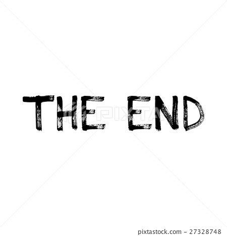 The End Of The Inscription插圖素材 [27328748] Pixta圖庫