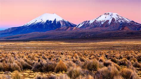 City At Night Wallpaper Sunrise Over Parinacota Volcano In Sajama National Park Bolivia Windows 10 Spotlight Images