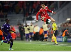 James Rodriguez High Jump In Champions League