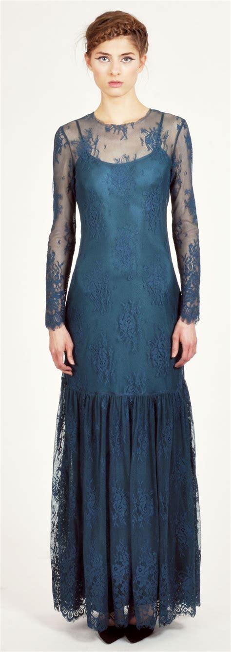 Candela Fashion by Candela Teal Lace Kennedy Maxi Bonadrag Fashion