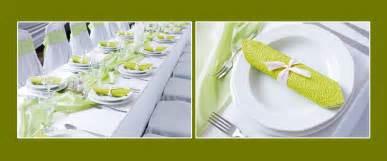 hochzeitsdekoration mieten tischdeko einfache hochzeitsdekoration in grün weiß