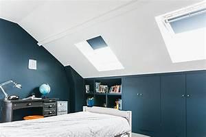 nuances de bleu style industriel frenchy fancy With commentaire peindre des poutres en blanc 6 deco un art de vivre