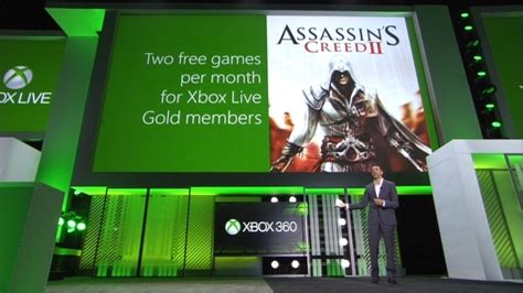 xbox july free games assassin s creed ii will be xbox live gold s second free in july