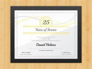 longevity years of service certificate award avenue With years of service award certificate templates