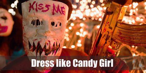 purge kiss  candy girl costume  halloween