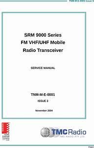 Simoco Australasia Srm9000ac Vhf Mobile Transmitter User