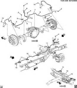 2000 Chevrolet Silverado BRAKE LINES/REAR
