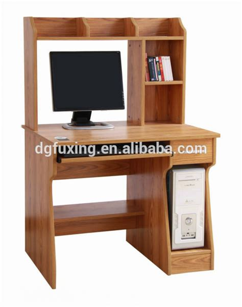 long wooden computer desk wooden computer desk designs factory price wooden computer