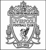 Coloring Pages Soccer Logos Club Liverpool Football Printable Fans Fc Sheets Adults Adult Colouring Coloringpagesfortoddlers Cool Bilder Messi Da Dari sketch template