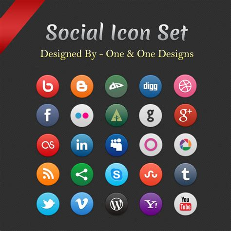 si鑒e sociale social icon set by oneandonedesigns on deviantart
