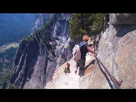 Yosemite Upper Fall Hike Youtube