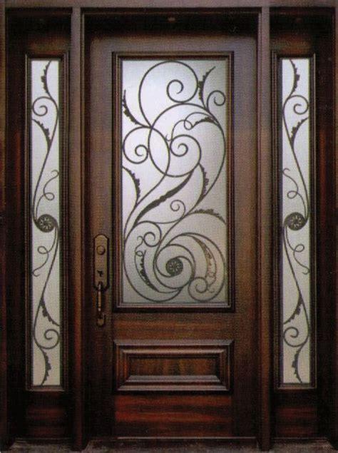 wrought iron doors decorative wrought iron front doors inserts toronto