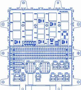 Renault Premium Dxi450 Relays Fuse Box    Block Circuit