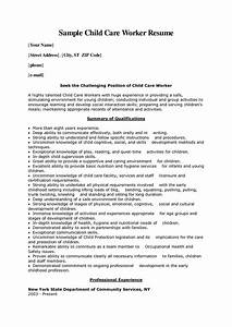 child care worker cover letter sample child care worker With cover letter for working with children
