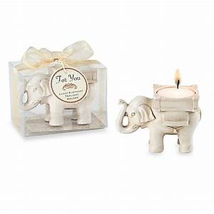 Kate aspenr lucky elephant tealight holder wedding favor for Kate aspen wedding favors