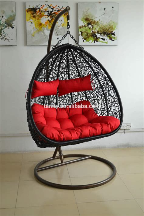 tf 9711 cheap two seater garden swing rattan hanging egg