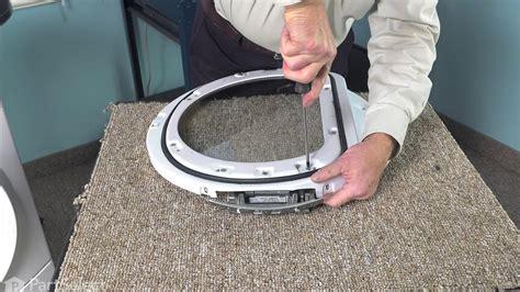 dryer door hinge whirlpool repair