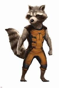 Guardians of the Galaxy - Rocket Raccoon Pósters en ...
