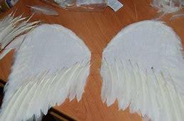как сделать крылья журавля для костюма своими руками