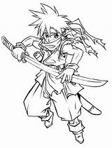 Chrono Trigger Lineart Coloring Deviantart Pages Template Sketch sketch template